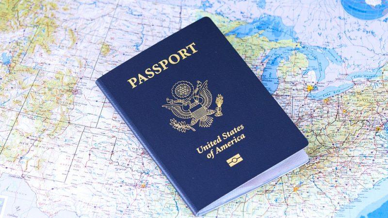Paszport USA, źródło: Pixabay, fot, cytis