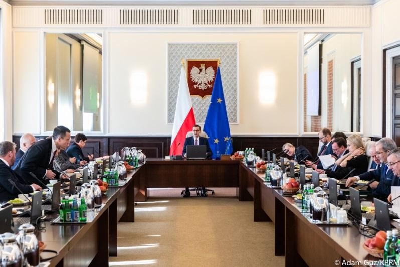 Posiedzenie Rady Ministrów, źródło Adam Guz KPRM