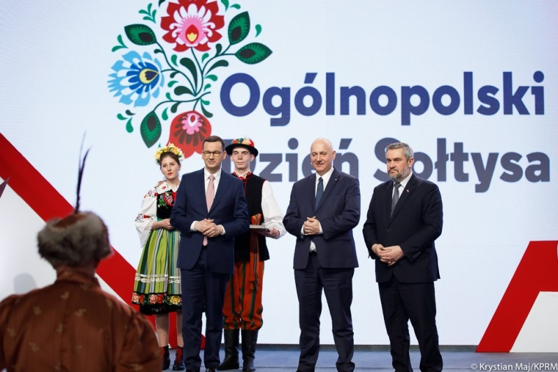 Premier Mateusz Morawiecki na ogólnopolskim dniu sołtysa`19, źródło Krystian Maj KPRM