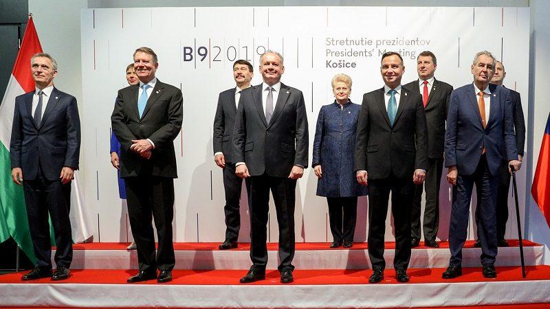 Szczyt Bukareszteńskiej Dziewiątki Koszyce 2019, źródło Igor Smirnow KPRP