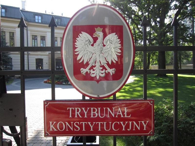 Trybunał Konstytucyjny w Warszawie, źródło facebook