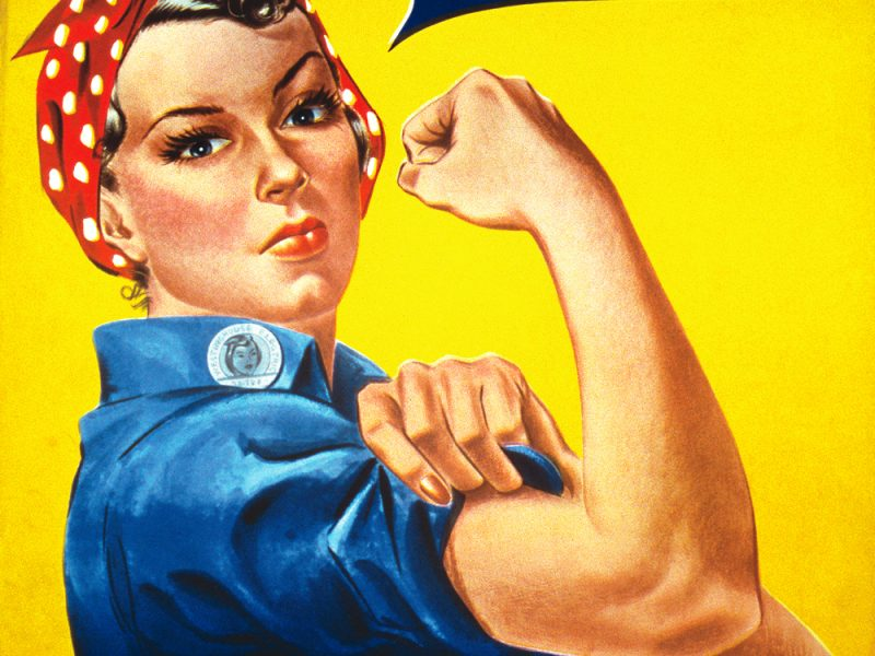 We Can Do It! Plakat J. Howarda Millera z 1943 r.