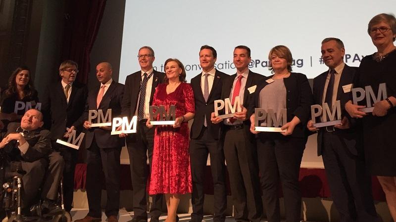 Zwycięzcy konkursu MEP Awards 2019, źródło theparliamentmagazine.eu