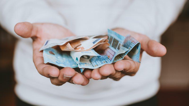 Banknoty euro, Fot: Christian Dubovan on Unsplash
