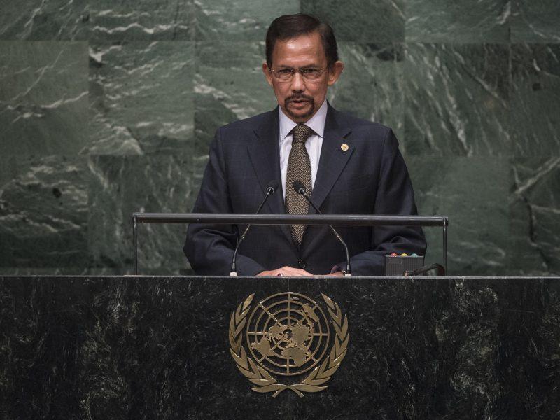 Sułtan Brunei Hassalan Bolkiah, fot. United Nations [Flickr]