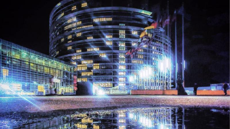 Parlament Europejski. Fot. Instagram PE