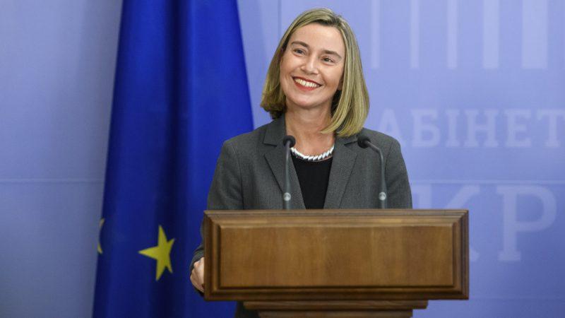 Wysoka Przedstawiciel UE ds. polityki międzynarodowej i bezpieczeństwa Federica Mogherini, źródło: Cabinet of Ukraine (CC BY 4.0)