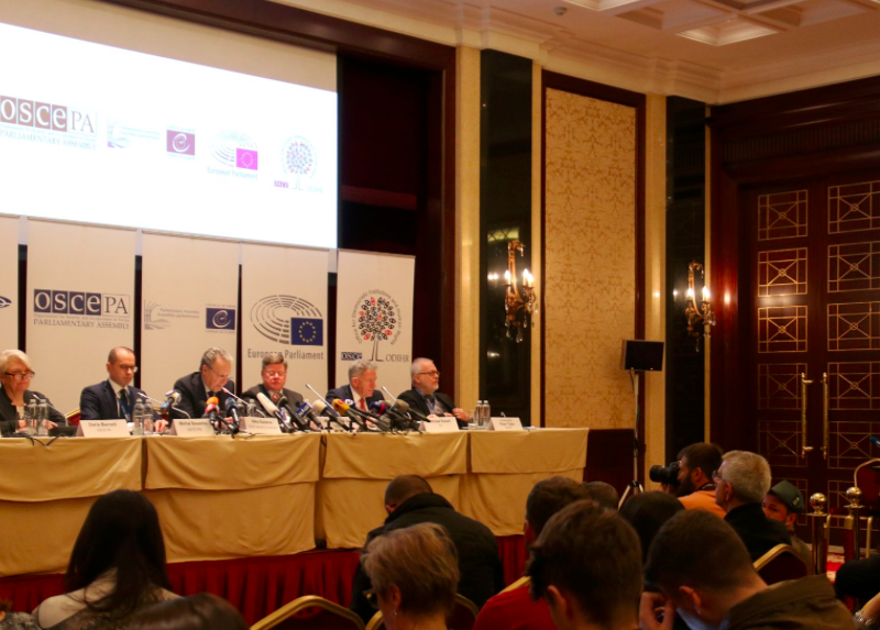 Konferencja OBWE w Kijowie, źródło: Twitter/OSCE PA (@oscepa)