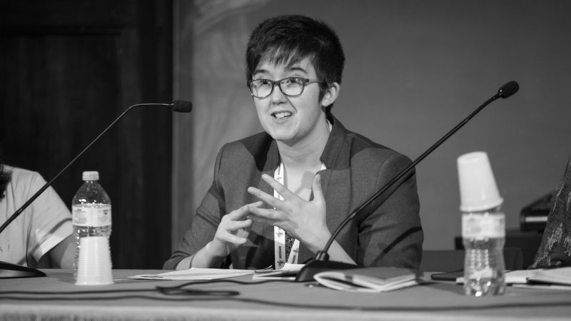 Lyra McKee, źródło: Flickr/International Journalism Festival, fot. Francesco Cuoccio (CC BY 2.0)