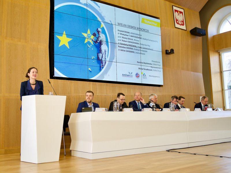 Wielka Debata Wyborcza EURACTIV.pl