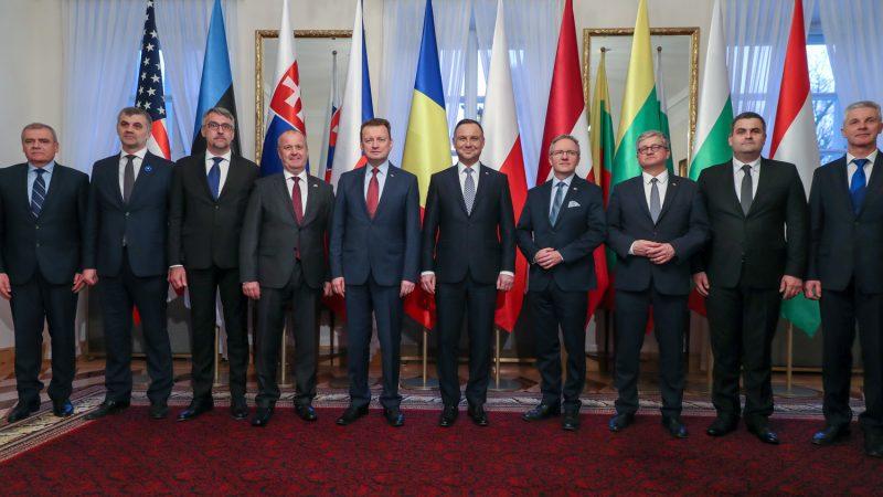 Spotkanie Bukaresztańskiej Dziewiątki 4 kwietnia 2019 r. | fot. Krzysztof Sitkowski/KPRP