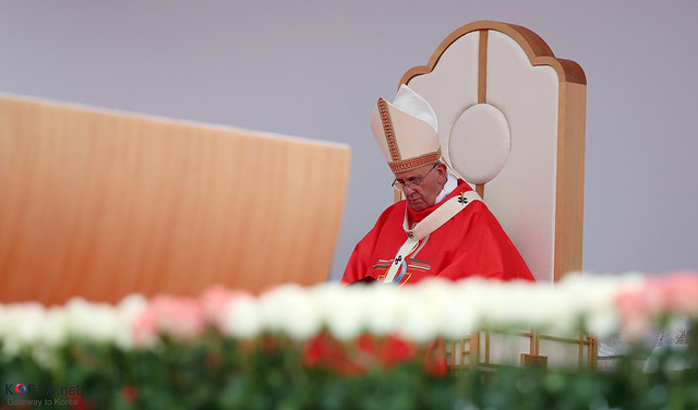 Papież Franciszek. fot. Jeon Han, Flickr