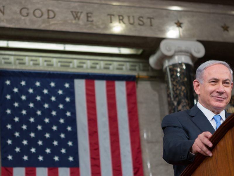 Bejamin Netanjahu, fot. Caleb Smith [Flickr]