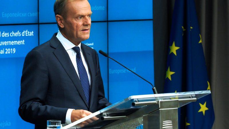 Przewodniczący Rady Europejskiej Donald Tusk, źródło: European Council