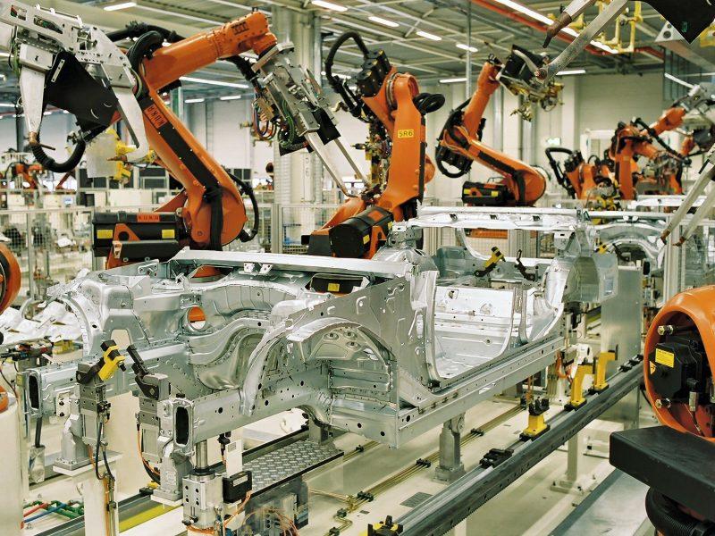 Fabryka BMW, źródło: Wikipedia/BMW Werk Leipzig (CC BY-SA 2.0 DE)