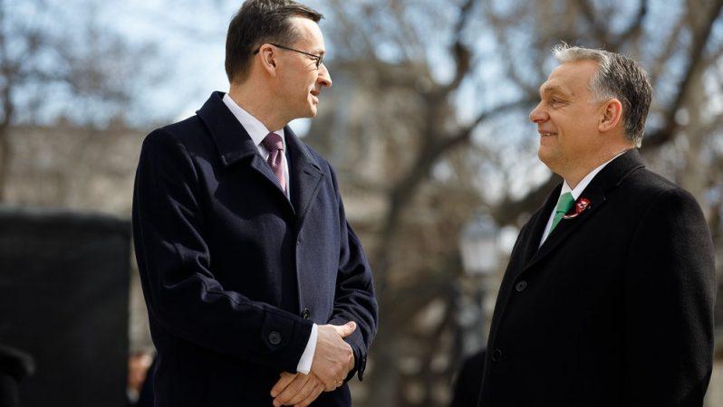 Mateusz Morawiecki i Viktor Orban, fot. Krystian Maj KPRM
