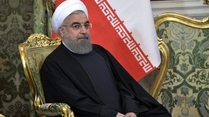 Prezydent Iranu Hasan Rowhani, źródło: en.kremlin.ru (CC BY 4.0)