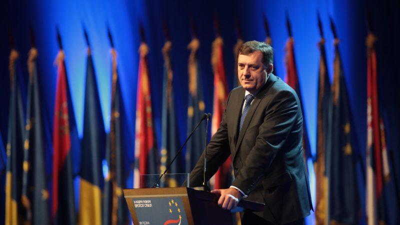 Przewodniczący Prezydium Bośni i Hercegowiny Milorad Dodik, żródło: Flickr/DEMOKRATSKA STRANKA DS/KONTRAFOTO (CC BY 2.0)