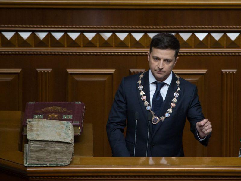 Wołodymyr Zełenski, źródło Mikołi Łazarenka, president.gov.ua