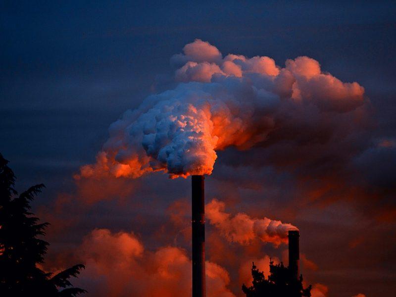 Irlandia, klimat, ekologia, smog, węgiel, CO2,