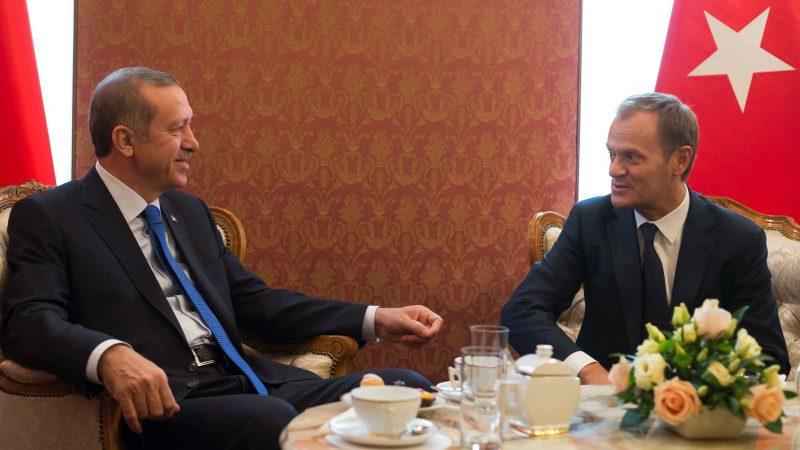 Donald Tusk i Recep Tayyip Erdogan, fot. Kancelaria Premiera [Flickr]