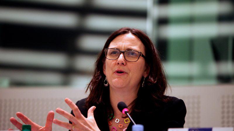 Cecilia Malmstrom, fot.Renew Europe Group [Flickr]