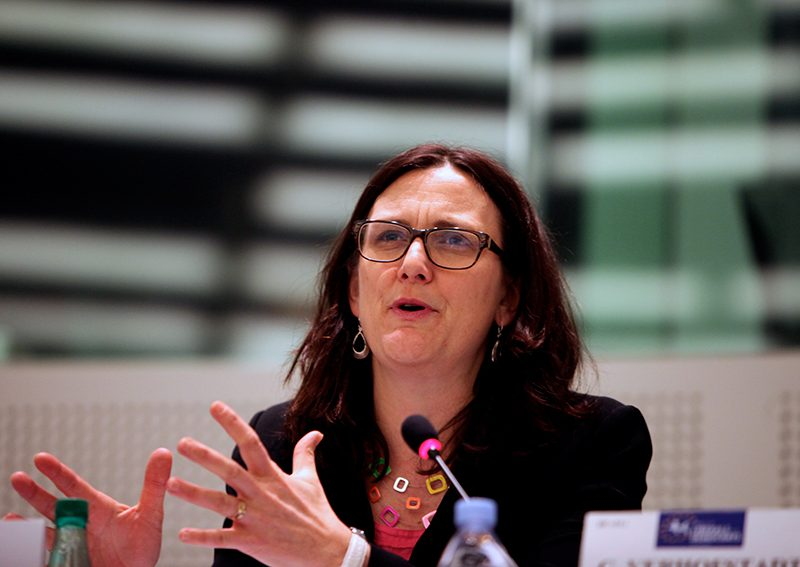 Cecilia Malmstrom, fot.Renew Europe Group [Flickr]