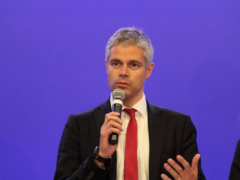 Laurent Wauquiez, źródło: Flickr/UMP Photos (CC BY-NC-ND 2.0)