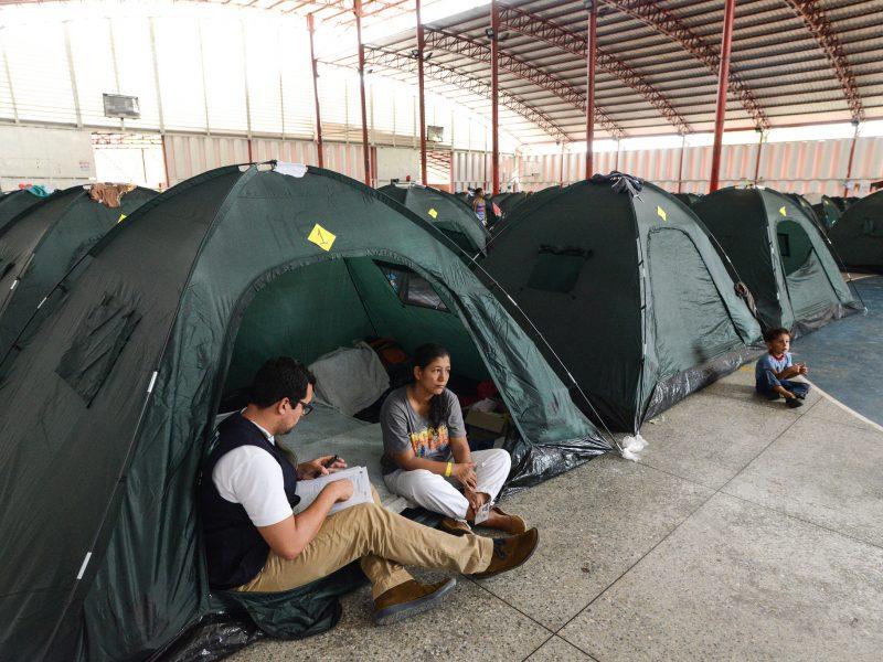 Uchodźcy z Wenezueli, źródło: Flickr/Comisión Interamericana de Derechos Humanos, fot. Daniel Cima