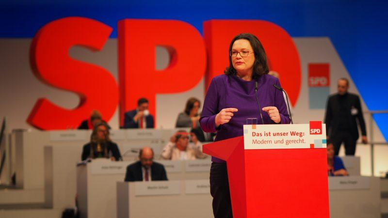 Andrea Nahles, źródło: Flickr/SPD Schleswig-Holstein (CC BY 2.0)