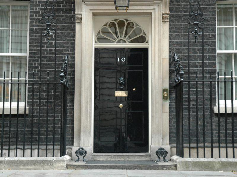 Rezydencja przy Downing Street 10, siedziba brytyjskich premierów, źródło: Flickr/Number 10 (CC BY-NC-ND 2.0)