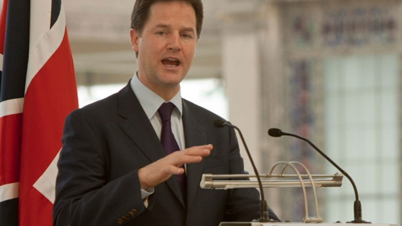 Nick Clegg, fot. Cabinet Office of Mexico [Flickr]