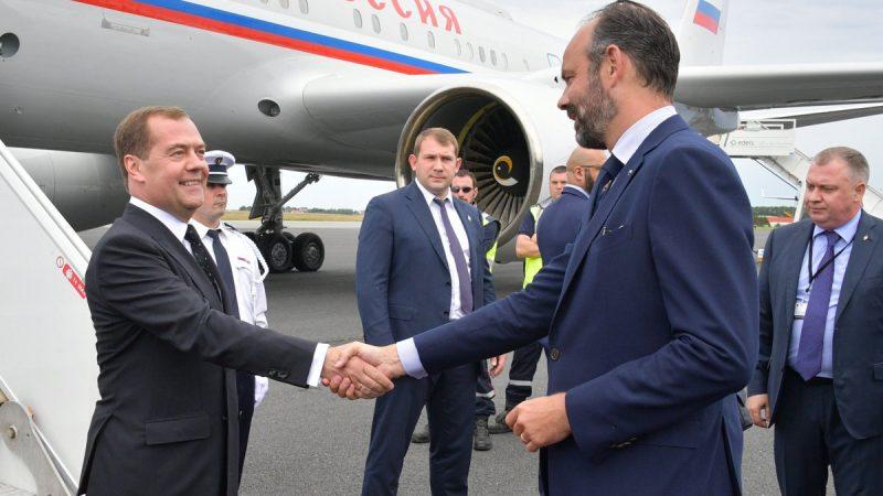 Miedwiediew i Philippe