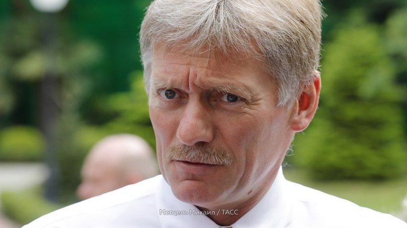 Dmitrij Pieskow, źródło twitter Michaił Mietcel TACC za ntvru