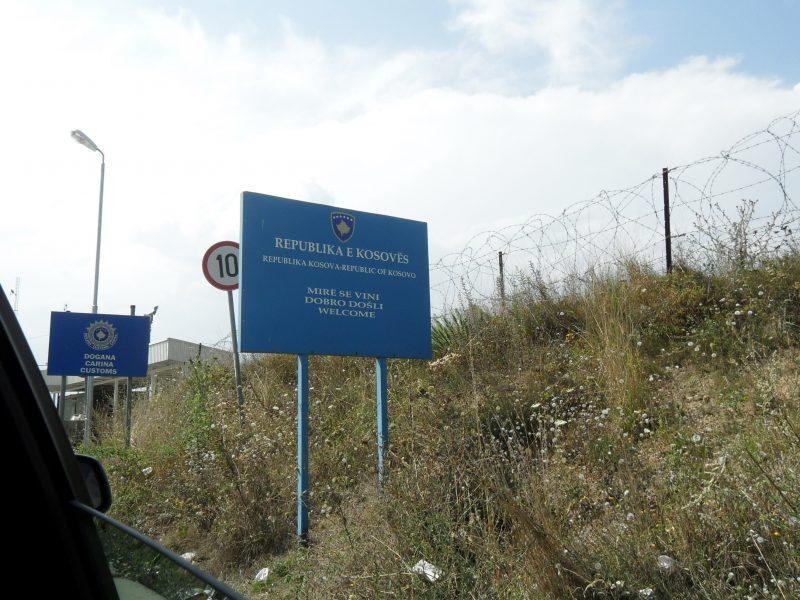 Granica serbsko-kosowska, źródło: Wikipedia, fot. Krzysztof Dudzik (CC BY-SA 3.0)