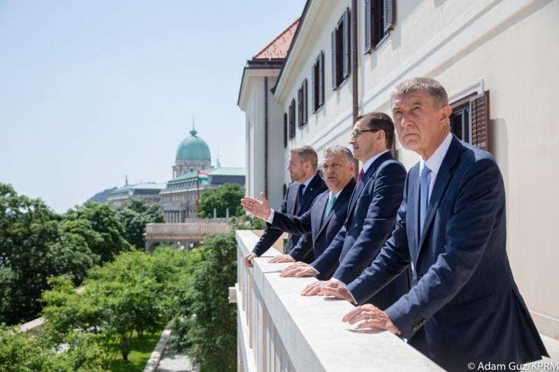 Premierzy V4 w Budapeszcie, źródło Adam Guz KPRM
