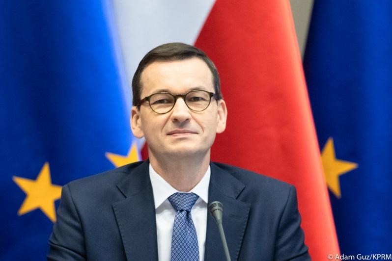 Szef rządu Mateusz Morawiecki, źródło Adam Guz KPRM