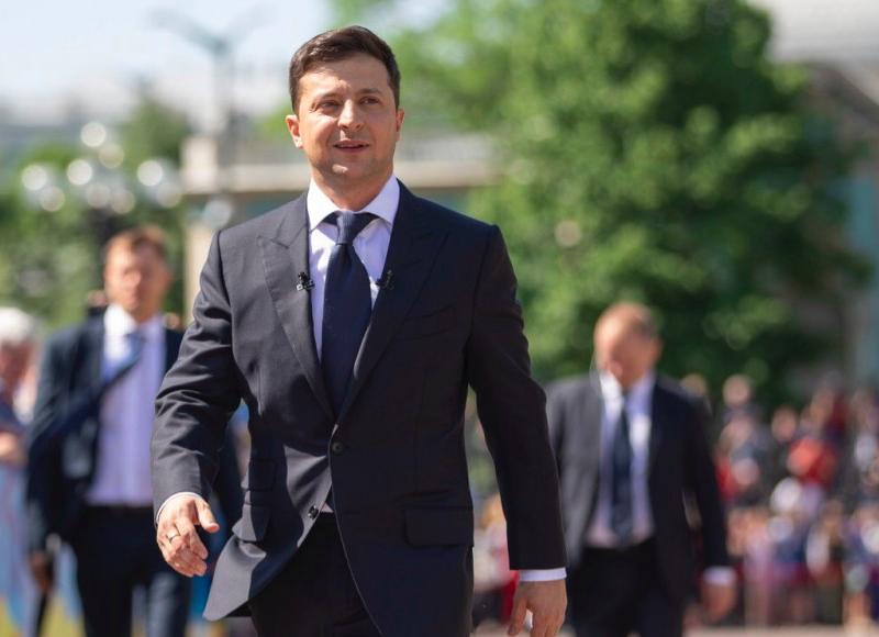 Prezydent Ukrainy Wołodymyr Zełenski, fot. Mykhaylo Markiv/The Presidential Administration of Ukraine (CC BY 4.0)