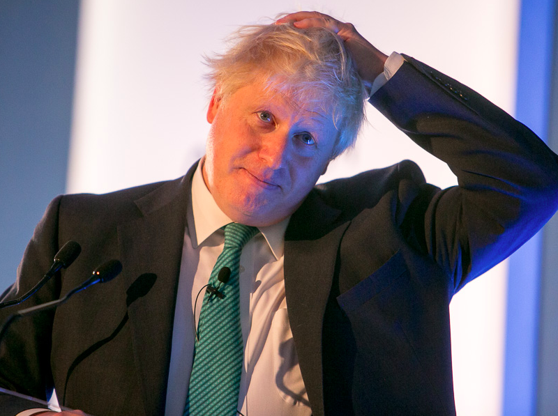 Boris Johnson, źródło: Flickr/Chatham House (CC BY 2.0)