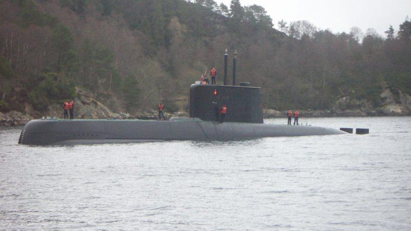 Okręt podwodny, fot. Christopher Jensen [Flickr]
