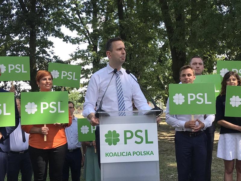 Lider PSL-Koalicji Polskiej Władysław Kosiniak-Kamysz, źródło twitter nowepsl