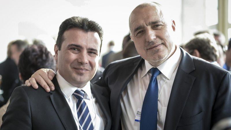 Zoran Zaew i Boyko Borissov, źródło: Flickr, fot. Rząd Republiki Macedonii Północnej