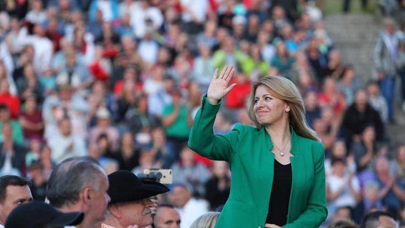 Prezydent Słowacji Zuzana Čaputova, źródło facebook Zuzana Čaputova