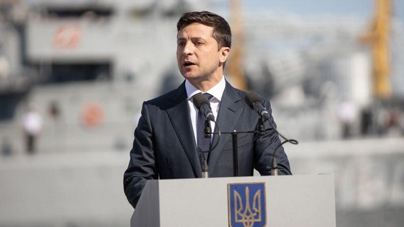Prezydent Ukrainy Wołodymyr Zełenski, źródło president.gov.ua
