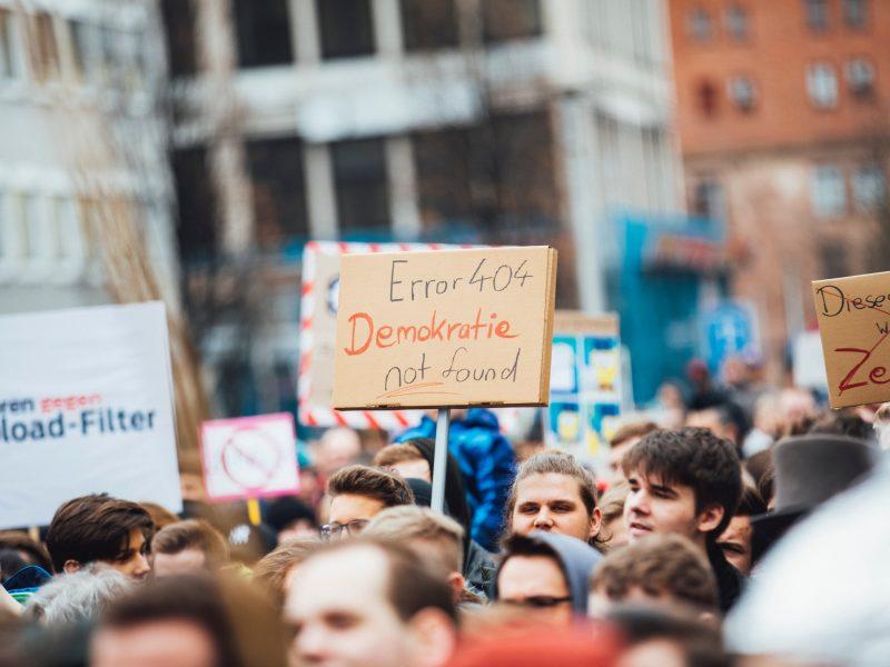 Protest, źródło: Unsplash