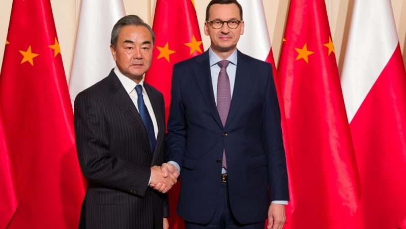 Spotkanie z Wangiem Yi, źródło: Kancelaria Prezesa Rady Ministrów, fot. Krystian Maj
