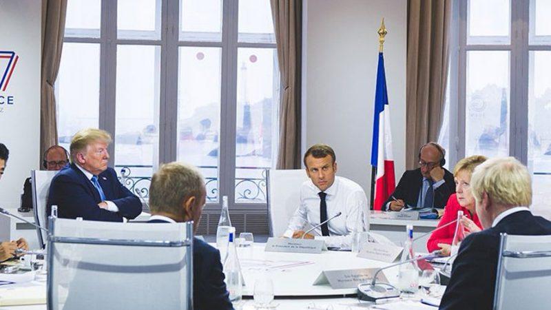 Przywódcy G7 na szczycie