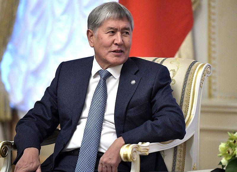 Ałmazbek Atambajew, źródło: https://en.kremlin.ru