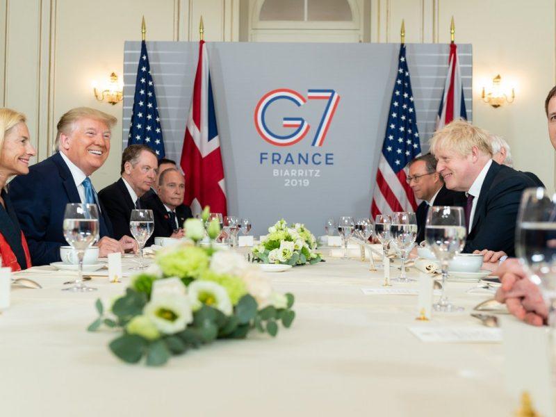Prezydent Donald Trump spotkał się z premierem Borisem Johnsonem aby omówić wyjątkowe stosunki pomiędzy USA a Wielką Brytanią