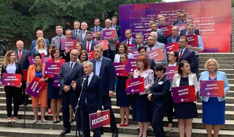 Jedynki Lewicy w wyborach parlamentarnych `19